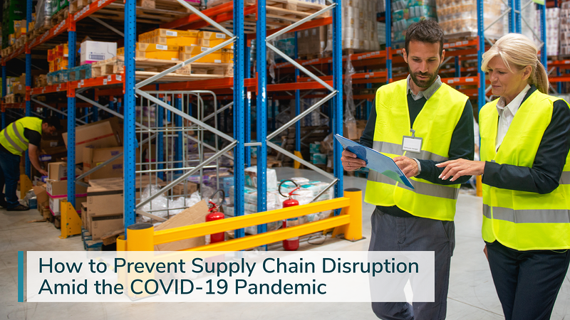 supply chain disruption amid COVID-19